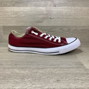 Converse CT All Star Maroon Ox Canvas Sneaker